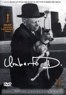 Umberto D. - Brazilian Movie Cover (xs thumbnail)