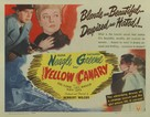 Yellow Canary - Movie Poster (xs thumbnail)