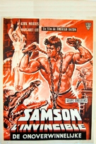 Sansone contro i pirati - Belgian Movie Poster (xs thumbnail)