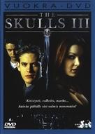 The Skulls III - Finnish DVD cover (xs thumbnail)