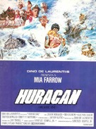 Hurricane - Spanish Movie Poster (xs thumbnail)