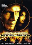 Hidden Agenda - Danish DVD cover (xs thumbnail)