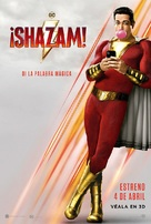 Shazam! - Chilean Movie Poster (xs thumbnail)