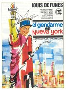 Le gendarme à New York - Spanish Movie Poster (xs thumbnail)