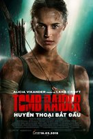 Tomb Raider - Vietnamese Movie Poster (xs thumbnail)
