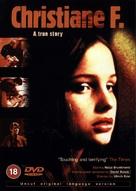 Christiane F. - British DVD cover (xs thumbnail)