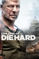Live Free or Die Hard - DVD cover (xs thumbnail)