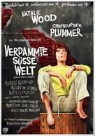 Inside Daisy Clover - German Movie Poster (xs thumbnail)