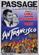San Francisco - Dutch Movie Poster (xs thumbnail)