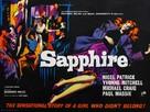 Sapphire - British Movie Poster (xs thumbnail)