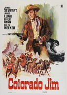 The Naked Spur - Spanish Movie Poster (xs thumbnail)