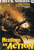 Missing in Action - German Movie Cover (xs thumbnail)