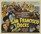 San Francisco Docks - Movie Poster (xs thumbnail)