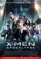 X-Men: Apocalypse - German Movie Poster (xs thumbnail)