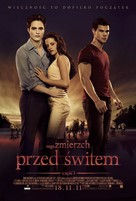The Twilight Saga: Breaking Dawn - Part 1 - Polish Movie Poster (xs thumbnail)