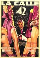 42nd Street - Spanish Movie Poster (xs thumbnail)