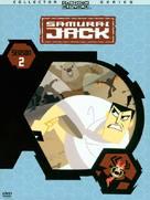 """""""Samurai Jack"""" - DVD cover (xs thumbnail)"""