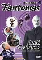 Fantômas - Czech DVD movie cover (xs thumbnail)