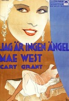 I'm No Angel - Swedish Movie Poster (xs thumbnail)