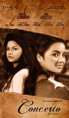 Concerto - Philippine Movie Poster (xs thumbnail)
