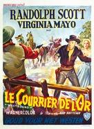 Westbound - Belgian Movie Poster (xs thumbnail)