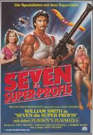 Seven - German Movie Poster (xs thumbnail)