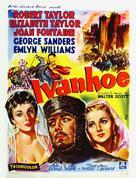 Ivanhoe - Belgian Movie Poster (xs thumbnail)