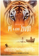 Life of Pi - Slovak Movie Poster (xs thumbnail)