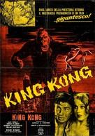 King Kong - Italian Re-release movie poster (xs thumbnail)