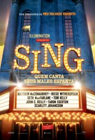 Sing - Brazilian Movie Poster (xs thumbnail)