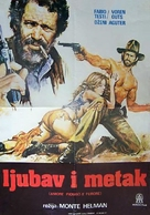 Amore, piombo e furore - Yugoslav Movie Poster (xs thumbnail)
