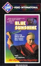 Blue Sunshine - German VHS cover (xs thumbnail)