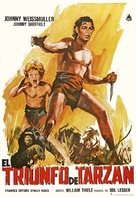 Tarzan Triumphs - Spanish Movie Poster (xs thumbnail)