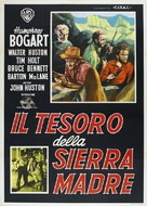 The Treasure of the Sierra Madre - Italian Re-release poster (xs thumbnail)