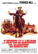 E poi lo chiamarono il magnifico - Spanish Movie Poster (xs thumbnail)