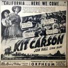 Kit Carson - poster (xs thumbnail)