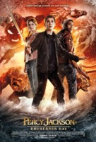 Percy Jackson: Sea of Monsters - Danish Movie Poster (xs thumbnail)