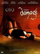 Damage - Swedish DVD movie cover (xs thumbnail)