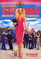 Legally Blonde - DVD movie cover (xs thumbnail)