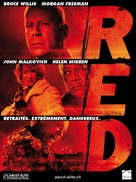 RED - Swiss Movie Poster (xs thumbnail)