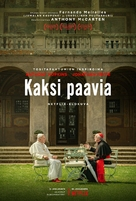 The Two Popes - Finnish Movie Poster (xs thumbnail)