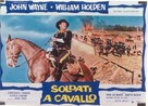The Horse Soldiers - Italian Movie Poster (xs thumbnail)
