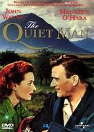 The Quiet Man - British DVD cover (xs thumbnail)