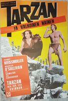 Tarzan and His Mate - Finnish Movie Poster (xs thumbnail)