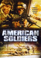 American Soldiers - DVD cover (xs thumbnail)