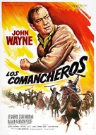 The Comancheros - Spanish Movie Poster (xs thumbnail)