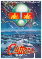 Critters - German Movie Poster (xs thumbnail)