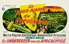 Voyage to the Bottom of the Sea - Belgian Movie Poster (xs thumbnail)