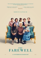 The Farewell - Dutch Movie Poster (xs thumbnail)