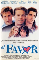 The Favor - Spanish Movie Poster (xs thumbnail)